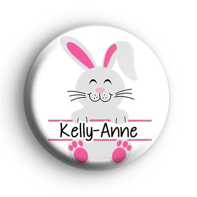 Easter Bunny Custom Name Badge