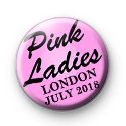 Pink Ladies Hen Badge