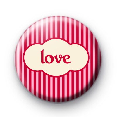 Pinky Love Button Badge