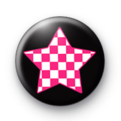 Funky Punk Star Badges