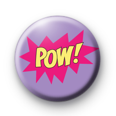 Pink POW Badge