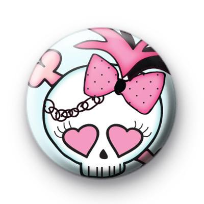 Rock On Rocker Skull Badges