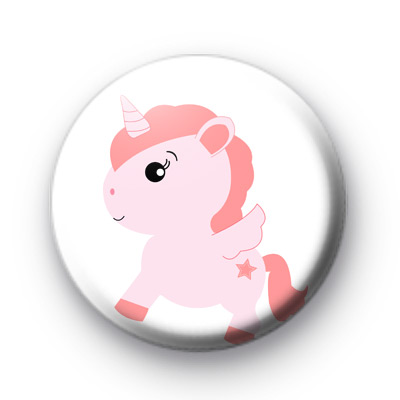 Pink Sweet Unicorn Badge