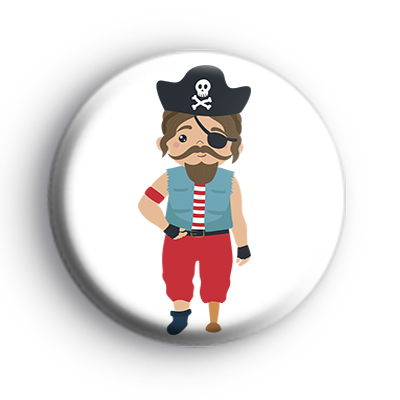 Pirate Peg Leg Badge