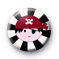 Pirate Boy Badge
