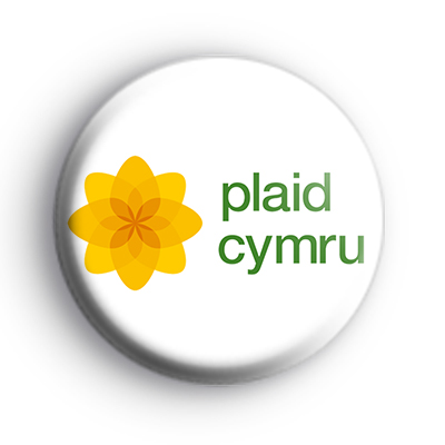 Plaid Cymru Welsh Political Badge