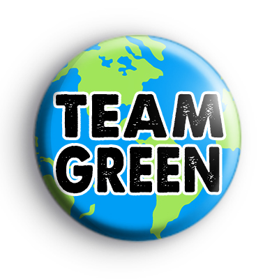 Team Green Planet Earth Badge