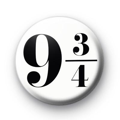 Platform 9 3/4 Badge
