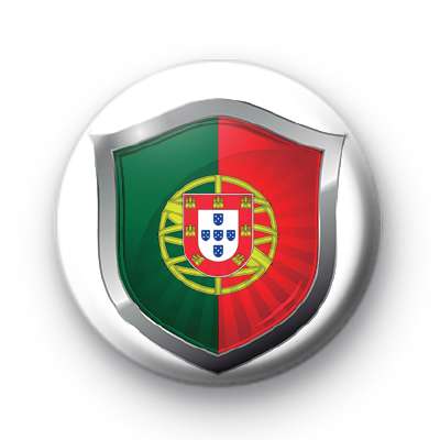Portugal Crest Flag Badge