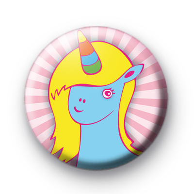 Cute Bright Unicorn Pin Badge