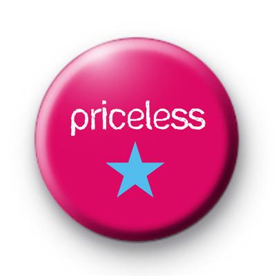 Priceless Pin Badge