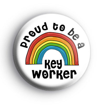 Proud to be a Key Worker Badge