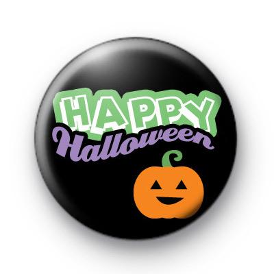 Pumpkin Happy Halloween 1 badge