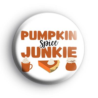 Pumpkin Spice Junkie Badge