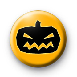 Black and Orange Pumkpin Head Badges