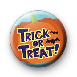 Pumpkin Trick or Treat badge