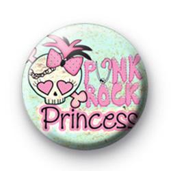Punk Rock Princess Badge