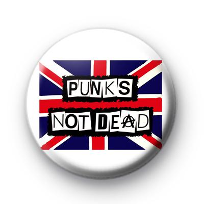 Punks not Dead badges