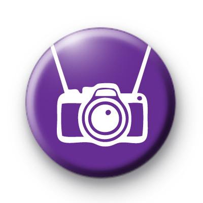 Purple Camera Button Badges