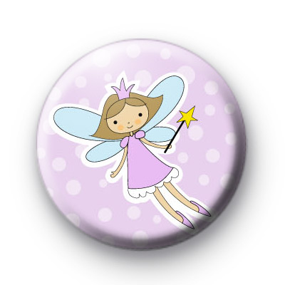 Purple Fairy Button Badges