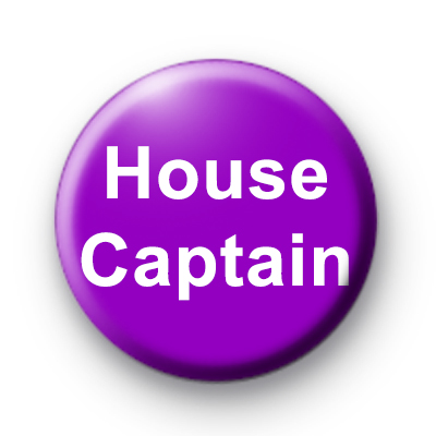 Purple House Captain badge
