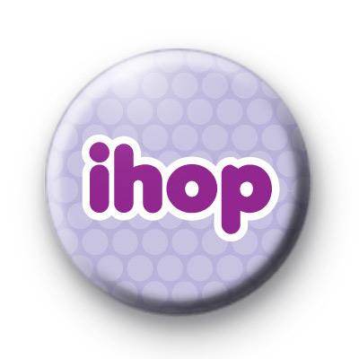 iHop Purple Bunny Badge