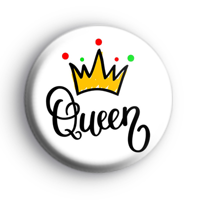 Queen Crown Badge