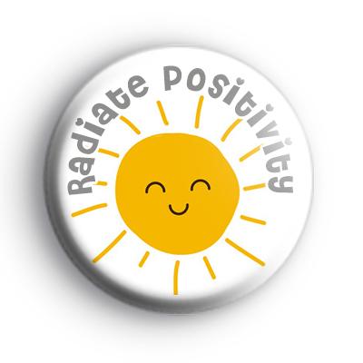 Radiate Positivity Badge