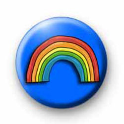 Rainbow Blue Badge