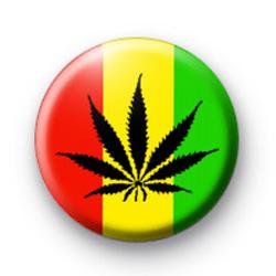 Rasta Drugs Button Badges
