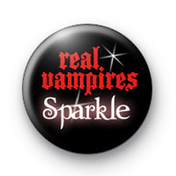 Real Vampires Sparkle Badge