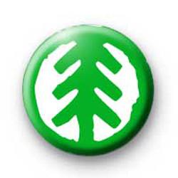 Recycle Tree Badges