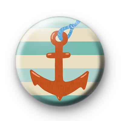 Seven Seas Red Anchor Badge