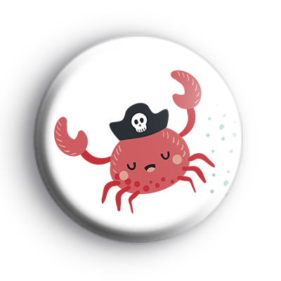 Pirate Sea Crab Badge