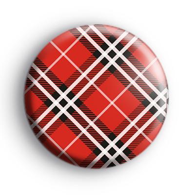 Red Tartan Badge