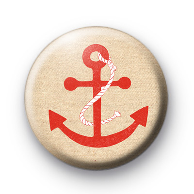 Red drop anchor badge