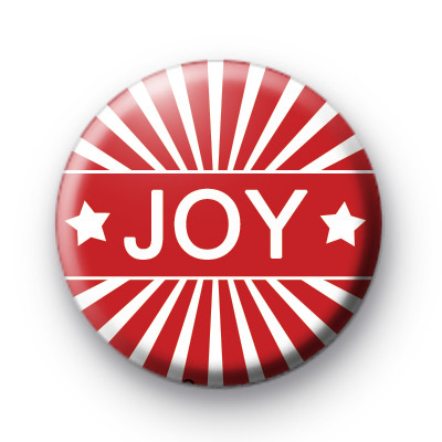 Christmas Joy Red Badges