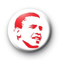 Barack Obama Red Badge