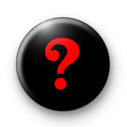 Red Question Mark Badge