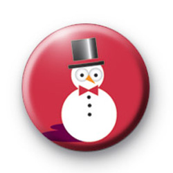 Snowman Red badges