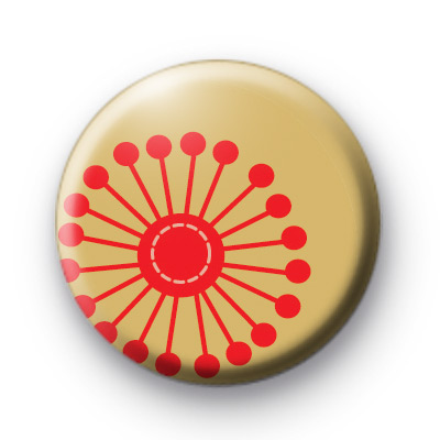 Red Spokes Badge