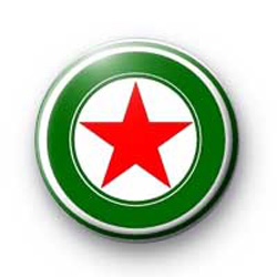 Red & Green Star badges
