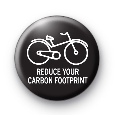 Reduce Your Carbon Footprint Badge
