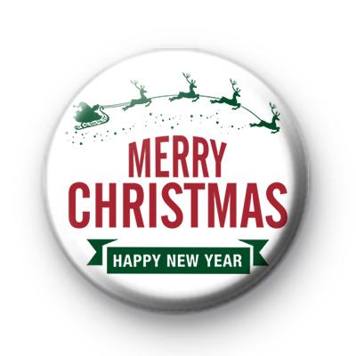 Reindeer Merry Christmas & Happy New Year