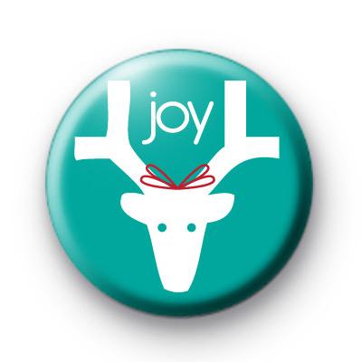 Reindeer Joy Badge