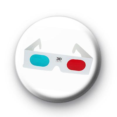 Retro 3d Glasses Badge