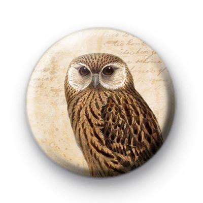 Retro Owl 2 Button Badge