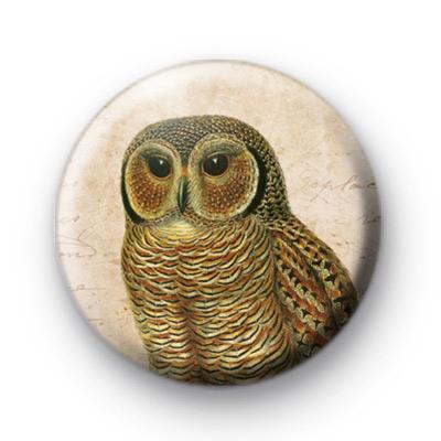Retro Owl 5 Badge