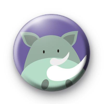 Rhino Button Badge
