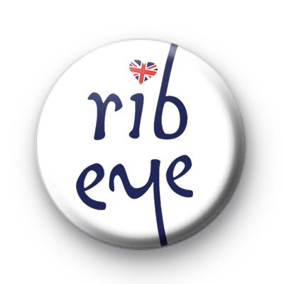 Rib Eye Union Flag Badge